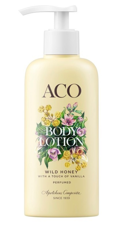 aco body lotion wild honey